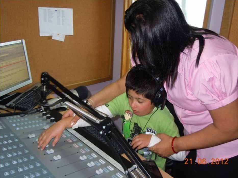 Visit to East FM